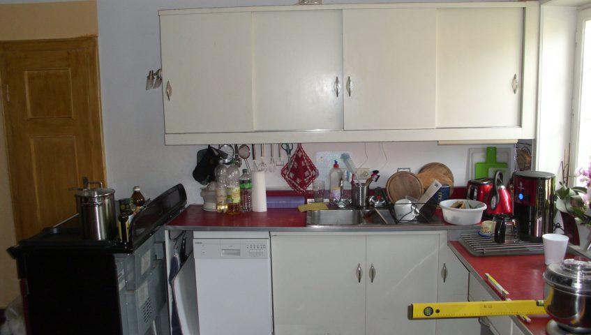 Küche Neubau vorher von Möbelwerkstatt Lorenz an der Nordsee