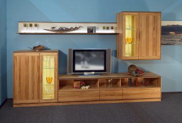 Moderne Möbel Wohnwand - Tischlerei Brasch fertigt auch für Hamburg
