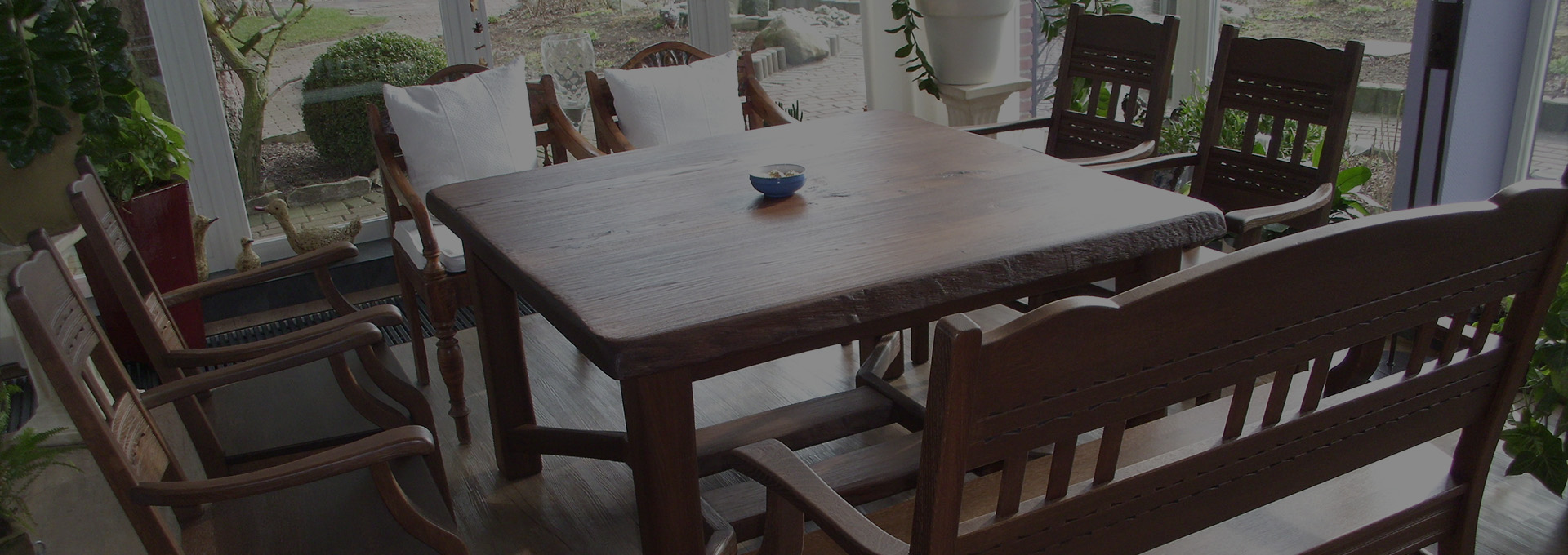Küchentisch mit Stühlen von Tischlerei Brasch aus der Nähe von Friedrichskroog