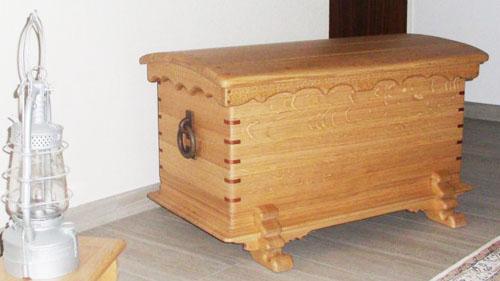 Truhen aus Holz gefertigt von Tischlermeister Brasch